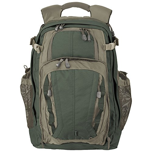 5.11 Tactical COVRT18 Covert Military Backpack, Large Assault Rucksack Pack, Style 56961, Green/Brown