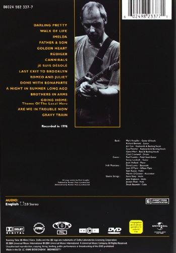 Mark Knopfler: A Night In London [DVD] [2004]