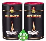 Burner kaminanzünder 200er dose - Die Original Kamin Anzünder für Kamine, Kaminöfen, Offene Feuer, Grill, Zündbeutel - Firelighter