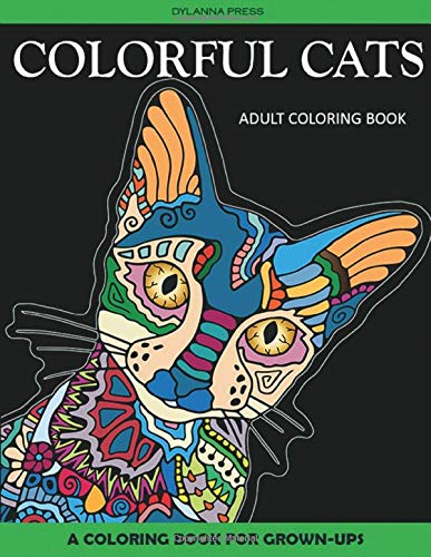 Free Download Colorful Cats Adult Coloring Book: A Coloring