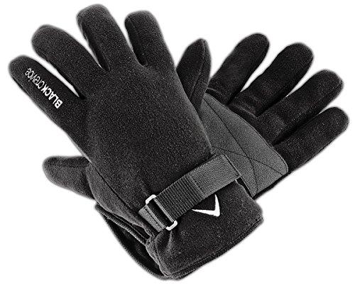 Black Crevice Gants de Ski pour Adulte X-Large Noir - Noir