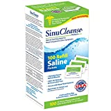 SinuCleanse Saline Refills Packets 100 Each (Pack of 5)