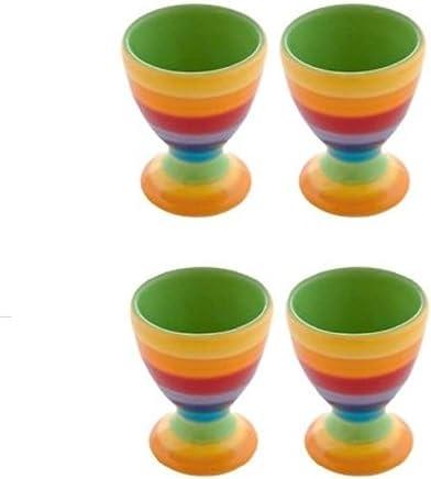 Windhorse Eierbecher–Rainbow Stripes X 4 - preisvergleich