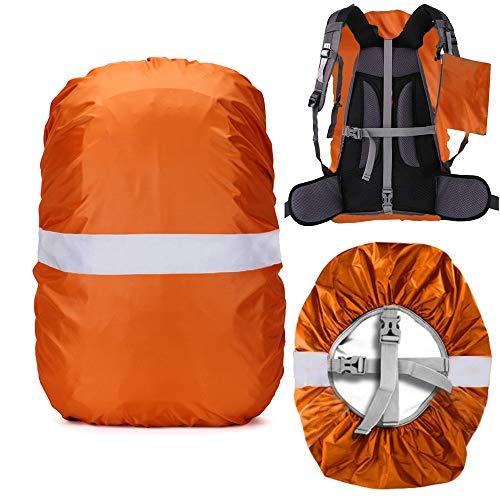 Cosowe Regenschutz für Rucksack Schulranzen, 100% Wasserschutz Rucksack Cover Regenüberzug mit Reflektorstreifen Rutschfester Kreuzschnalle, Perfekt für Camping, Wandern und Outdoor Aktivitäten