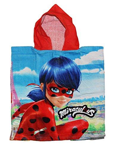 Disney Poncho/Toalha de Ladybug em