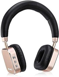 سماعة بلوتوث باس ستيريو لاسلكية داخل الاذن من AWEI A900BL - ذهبي، اسود