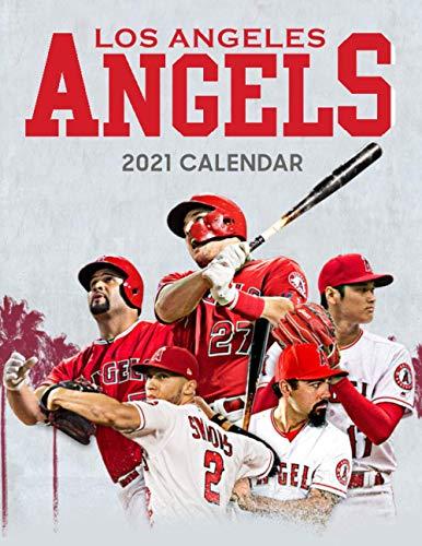 Los Angeles Angels 2021 Calendar
