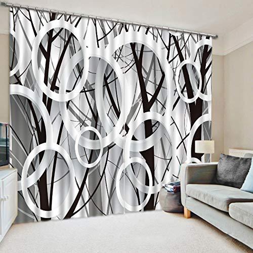Home gardinen Verdunkelungs Bleistift Falte Curtain für Schlafzimmer Wohnzimmer 2-Panel-Fenster wärmedämm Vorhänge,2 * 2.1m