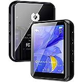 Jolike Bluetooth5.0 MP3プレーヤー 16GB内蔵 128GBまで拡張可能 フルタッチスクリーン スピーカー内臓 1.8インチ 合金製 HIFI超高音質 超小型軽量 ポータブルオーディオプレーヤー FMラジ多機能音楽プレーヤーM5