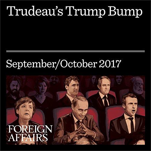 Trudeau's Trump Bump audiobook cover art
