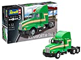 Revell Maqueta Kenworth T600, Kit Modello, Escala 1:32 (07446), 25,6 cm de Largo