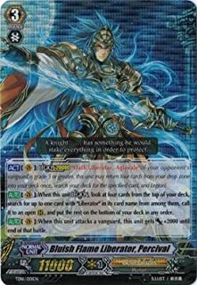 Cardfight!! Vanguard TCG - Bluish Flame Liberator, Percival (TD16/001EN) - Trial Deck 16: Divine Judgement of the Bluish Flames