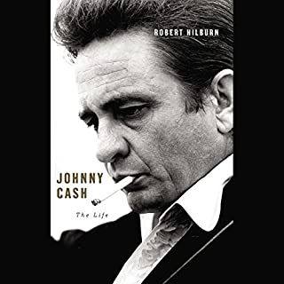 Johnny Cash audiobook cover art