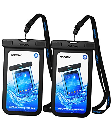 Mpow Waterproof Phone Pouch, One-Piece Designed...
