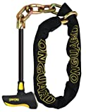 Onguard Beast Chain Lock with X2 Steel Bar Lock (Black, 140 cm x 11 mm)