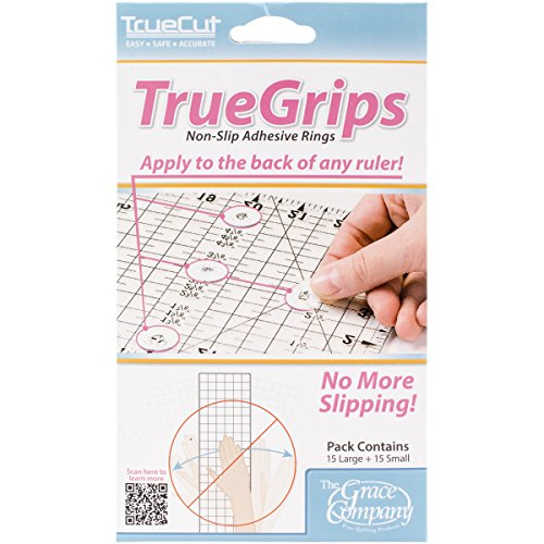 Crafters Workshop TrueCut Non-Slip Ruler Grips, 30/Pkg