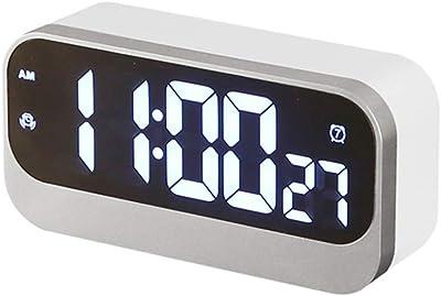 ZHAOHUIFANG Reloj Despertador Digital Plug-in Multifunción Led Reloj Despertador Creativo Estudiante Cama Muda Dormitorio