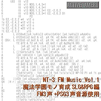 NT-3 FM Music Vol.1