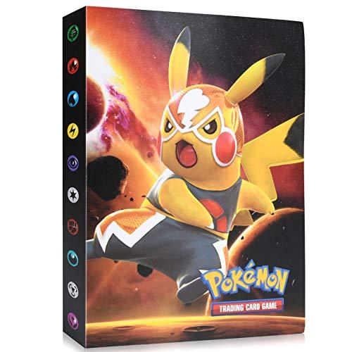 Funmo Pokemon Cartas Álbum, Álbum de Pokemon, Comercio Tarjeta Álbum, GX y...
