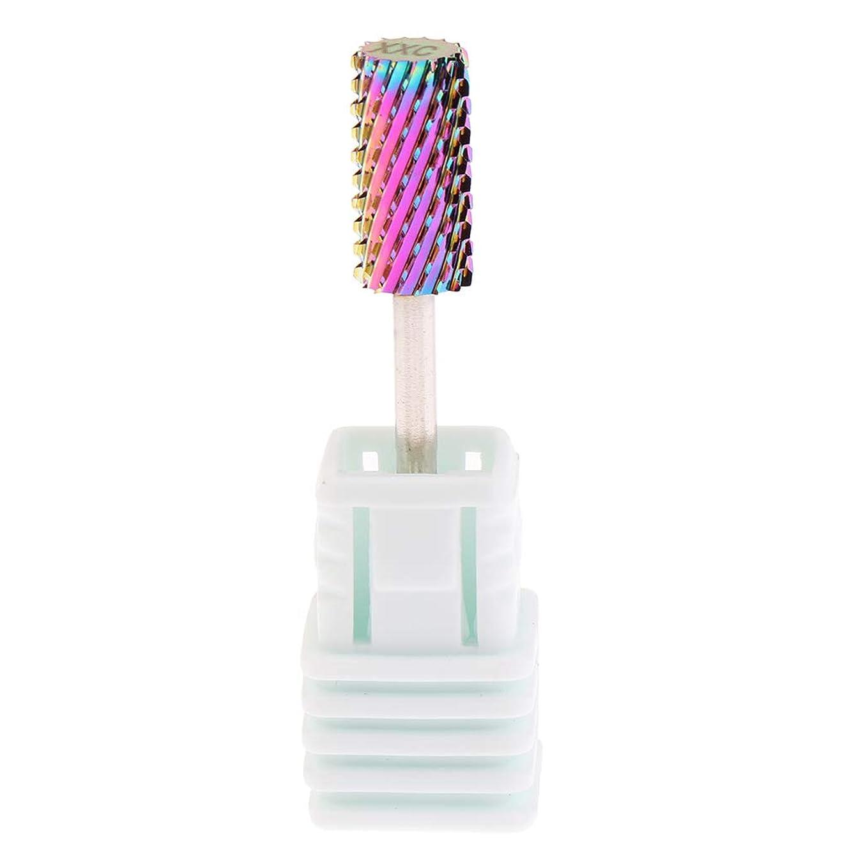 DYNWAVE プロバリ電気ネイルドリルビット炭化タングステンダイヤモンドヘッドマニキュアツール - 3XC