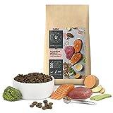 PETS DELI - NATURAL PET FOOD Trockenfutter für Hunde | Thunfisch und Lachs mit Süßkartoffel und Brokkoli | 2 kg