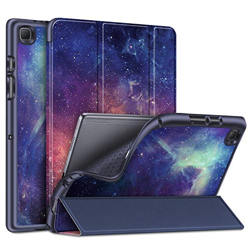 Fintie Funda para Samsung Galaxy Tab A7 10.4' 2020 - SlimShell Carcasa Trasera de TPU Suave con Auto-Reposo/Activación para Modelo SM-T500/T505/T507, Galaxia