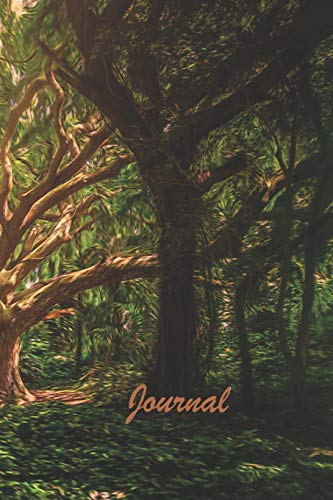Journal: Amazing Nature Notebook Journal for everyone - forest tree