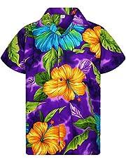 V.H.O. Funky Hawaiian Shirt   Men   Short-Sleeve   Front-Poc