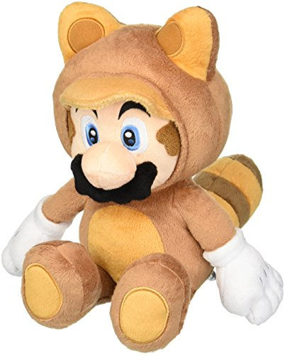 Super Mario - Tanuki Mario 30 cm Plueschtier