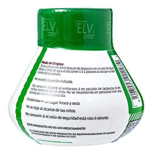 *Brand New Design* Original Elv Alipotec Tejocote Root Treatment - 1 Bottle (3 Month Treatment) - Most Popular, All-Natural Weight Loss Supplement in Mexico 4