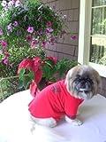 Joybies Nachthemd für Hund X Klein Rot