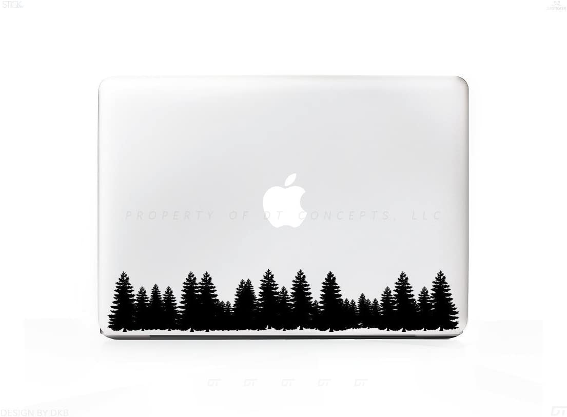 Arborist Forest Tree Line Sticker Decal for MacBook Pro, PC, Laptop, Window, Car, or Wall