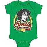 Bob Marley Baby Boys' Jamaica Bodysuit 18-24 Months Green