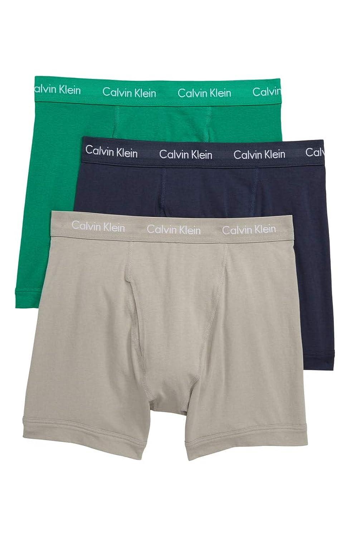 Calvin Klein(カルバンクライン)ボクサーパンツ 3枚セット コットンストレッチ NU2666 [並行輸入品]