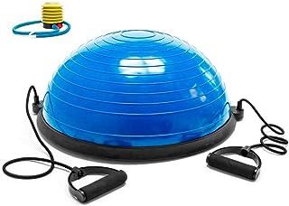 comprar comparacion OcioDual Bos Up Balance Trainer Fitball Pelota de Gimnasia Bola de Equilibrio para Entranamiento Pilates Media Bola 60cm con