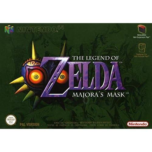 c207d21ab Amazon.com: The Legend of Zelda: Majora's Mask - Nintendo 64: Nintendo 64:  Video Games
