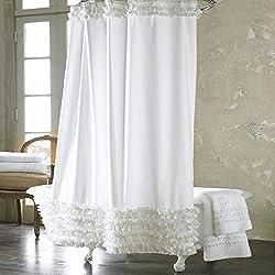 der perfekte duschvorhang und tipps zur aufh ngung eclectic hamilton. Black Bedroom Furniture Sets. Home Design Ideas