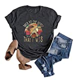 Women Stevie Nicks Vintage T Shirt Back to The Gypsy That I was Graphic Rock Music Tees Tops (Dark Gray, L)