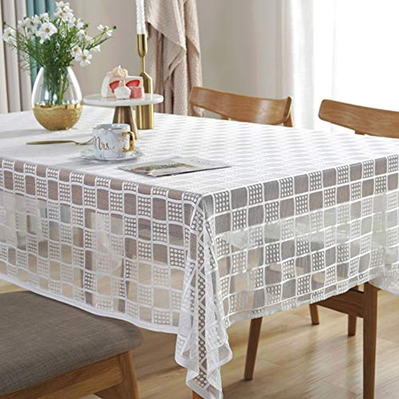 Creek Ywh Lace tablecloth European retro coffee table cloth rectangular household lattice ins net red tablecloth tablecloth wedding, lace lattice, 145260cm