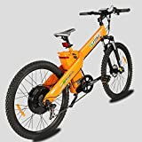 E-go Electric Bicycle E Bike 1000w 48v13ah Orange Pedal Assist Moped