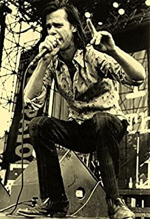 Nick Cave and The Bad Seeds Poster, Live in Concert