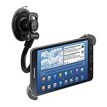 "kwmobile 7"" -10.5"" Tablet 用 車載 タブレット 固定 ホルダー - 吸盤付き 360度 調整可 車 Tabletホルダー - 内寸法: 21.0-34.0 cm"