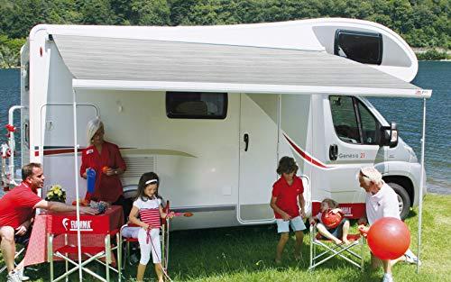 Fiamma Markise F45 L 450 polarweiß Royal Grey Sonnenschutz Fahrzeug Wohnwagen Vordach Sonnensegel