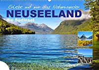 Erlebe mit mir das Naturwunder Neuseeland die Suedinsel (Wandkalender 2022 DIN A2 quer): Die Suedinsel Neuseelands besticht durch seine abwechslungsreiche Natur. (Monatskalender, 14 Seiten )