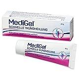 MediGel Schnelle Wundheilung – Hydroaktives Lipogel mit Zink & Eisen für alle Wunden im Alltag – Moderne feuchte Wundheilung – 20g