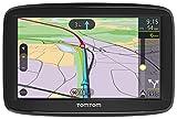 TomTom Car Sat Nav VIA 52, 5 Inch with Handsfree Calling, Lifetime Traffic via Smartphone and WE Maps, Resistive Screen