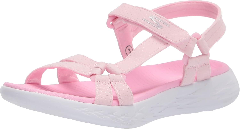Skechers Kids Unisex-Child On-The-go 600-Summer Sense Sandal