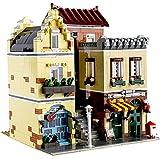KEAYO Bausteine Haus, Mould King 16008, 3103 Teile Modular Café Modellbausatz mit Beleuchtung, Klemmbausteine Gebäude Modell Kompatibel mit Lego Haus
