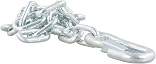 CURT 80313 27-Inch Trailer Safety Chain with 7/16-Inch Snap Hook 5,000 lbs. Break Strength