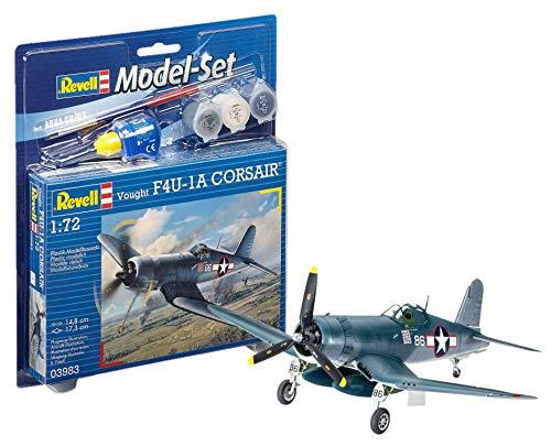 Revell - 63983 - Maquette D'aviation - Vought F4u-1d Corsair - 63 Pièces - Echelle 1/72